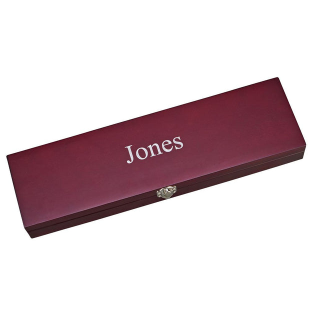 Personalized Stainless Steel Carving Gift Set - The National Memo
