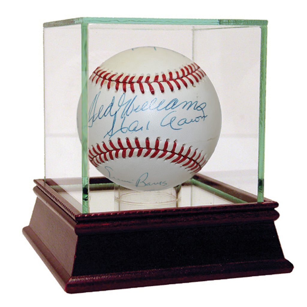 Signed Authentic Home Run Club Baseball - The National Memo