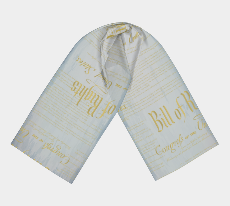 Bill of Rights Long Silk Scarf - The National Memo