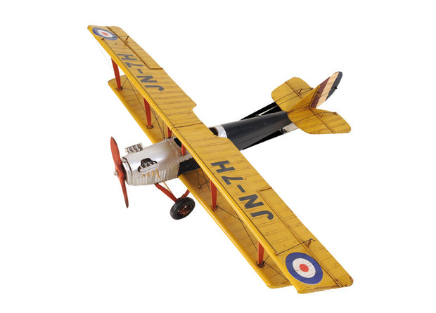 Yellow Curtis Jenny Model Airplane - The National Memo