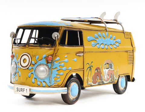 1967 Volkswagen Deluxe Bus Model Vehicle