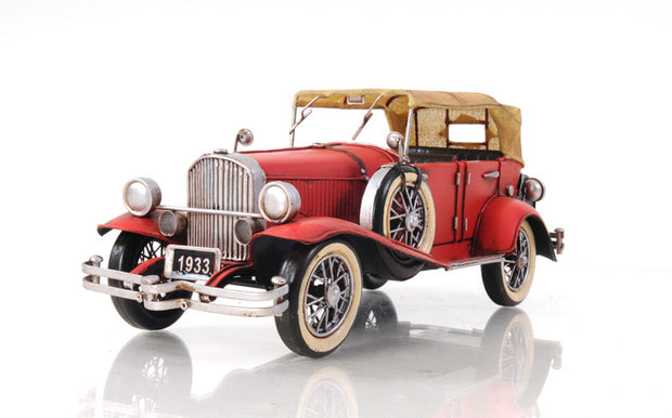 1933 Red Duesenberg Model Car - The National Memo