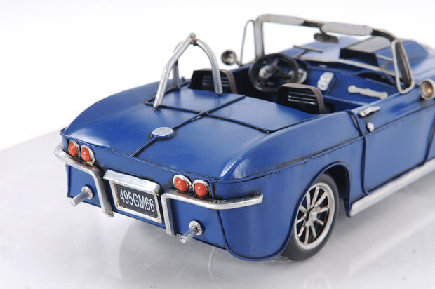 Blue Chevrolet Corvette Model Car - The National Memo
