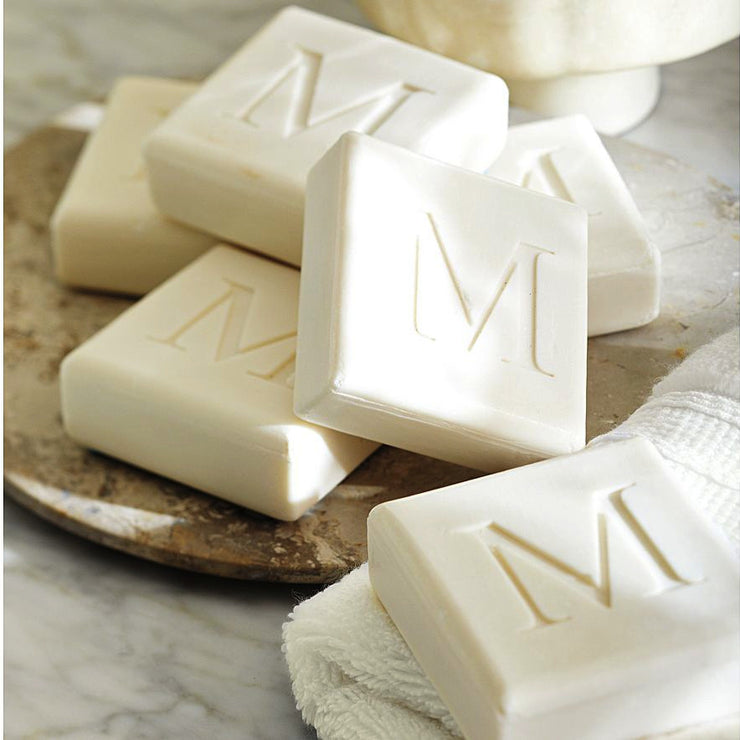 Personalized Square Soap Gift Set, 4 bars, 4 oz. each - The National Memo