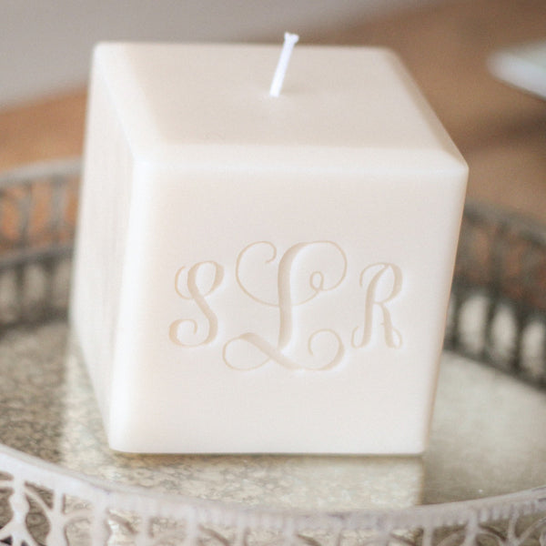 Personalized Hand Poured Soy Candle, 3""