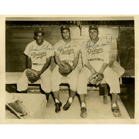 Baseball Legends Signed Photograph