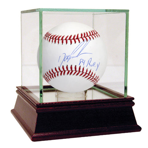 Signed MLB Baseball by Dwight Gooden and Darryl Strawberry