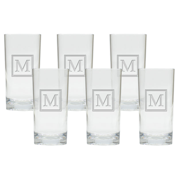 Personalized Cooler Glasses, Set of 6 - The National Memo