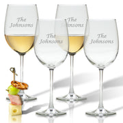 Personalized Wine Glasses, Set of 4 - The National Memo