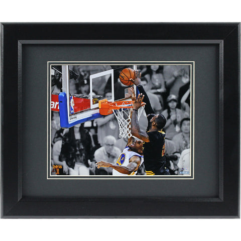 2016 NBA Championship Lebron James Framed Photograph - The National Memo