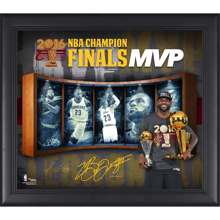 LeBron James Cleveland Cavaliers 2016 NBA Finals MVP Collage - The National Memo