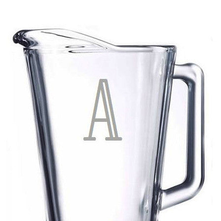 Personalized Glass Pitcher, 60 oz.