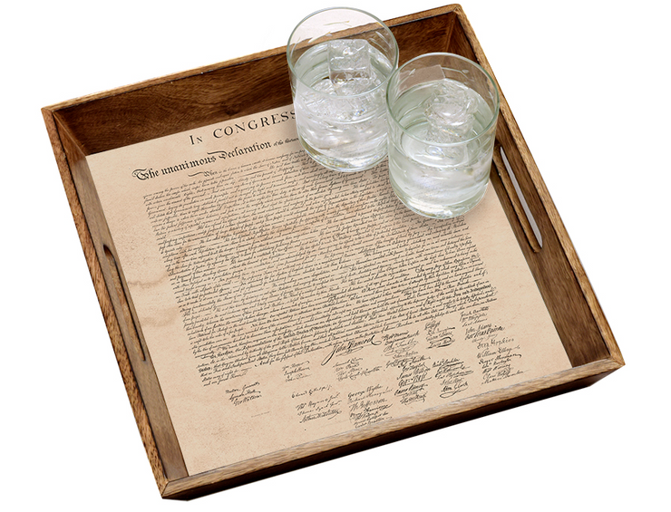 Constitution Tray - The National Memo