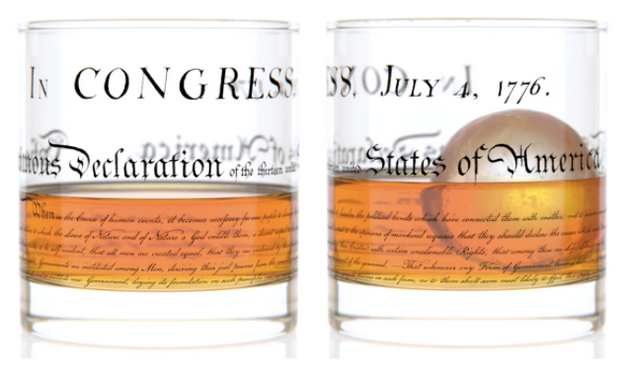 Constitution Rocks Glass - The National Memo