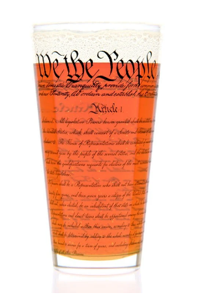 Constitution Pint Glass - The National Memo