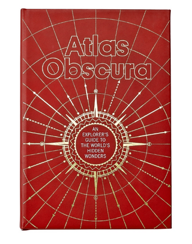 Atlas Obscura Red leather