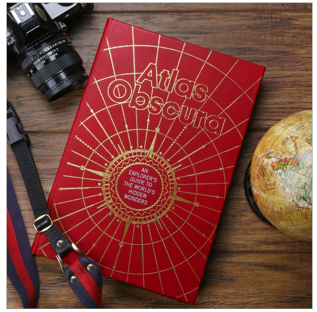 Atlas Obscura - Red Genuine Leather - The National Memo