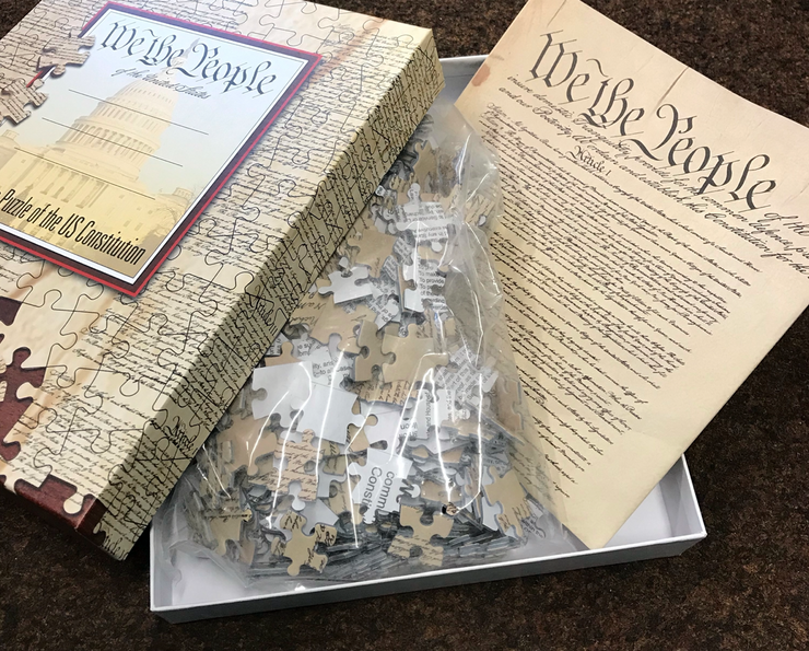 US Constitution Jigsaw Puzzle