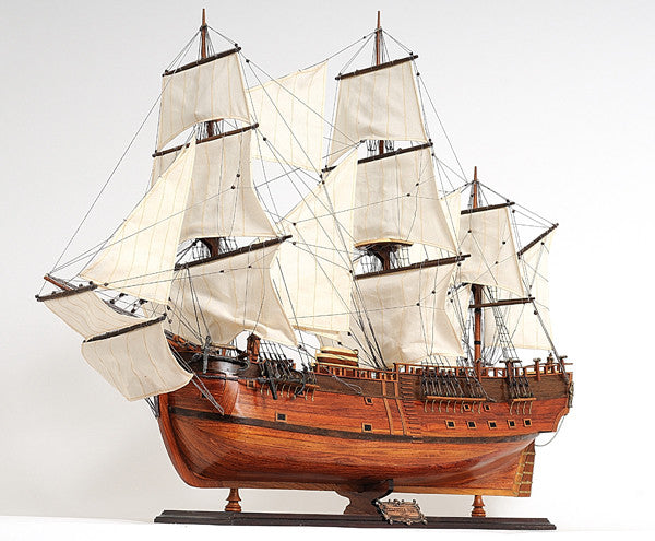 "H.M.S Endeavour Model Ship, 38"" - The National Memo"