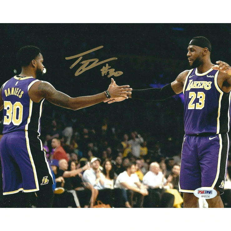 Troy Daniels Signed w/ LeBron James LA Lakers Photo - The National Memo