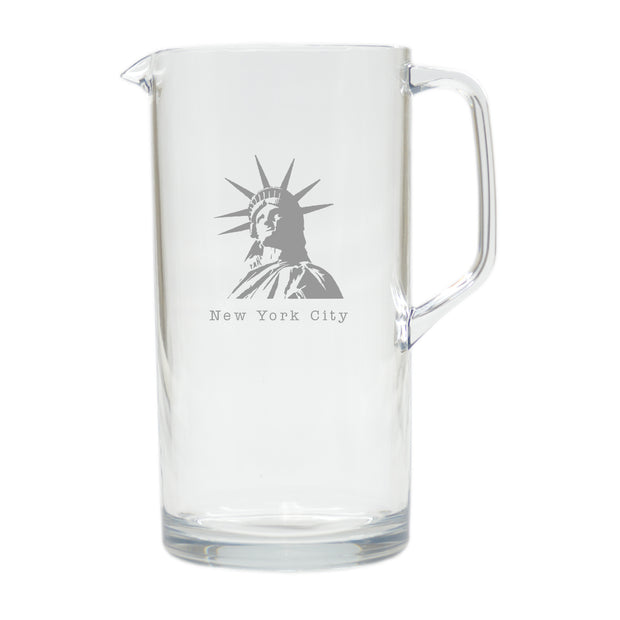 Acrylic Pitcher - Assorted - The National Memo