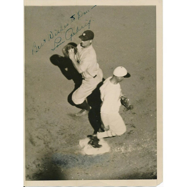 Autographed Lou Gehrig Photo - The National Memo