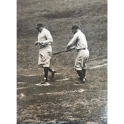 Babe Ruth 1927 World Series HR Lou Gehrig Original Wire Photo - The National Memo