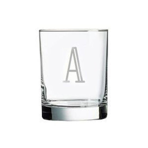 Personalized Old Fashioned Glasses, Set of 6, 14 oz. each