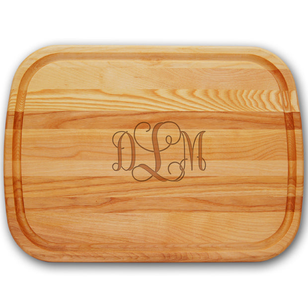 Large Custom Monogrammed Cutting Board - The National Memo