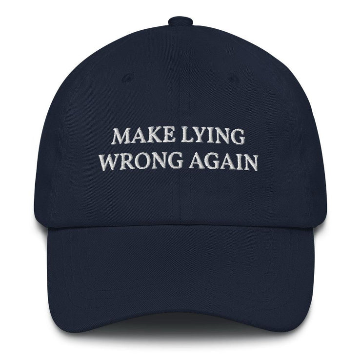 Make Lying Wrong Again Hat - The National Memo