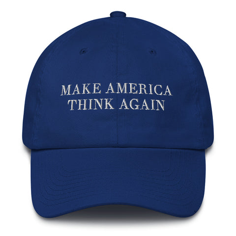 Make America Think Again Cotton Hat - The National Memo