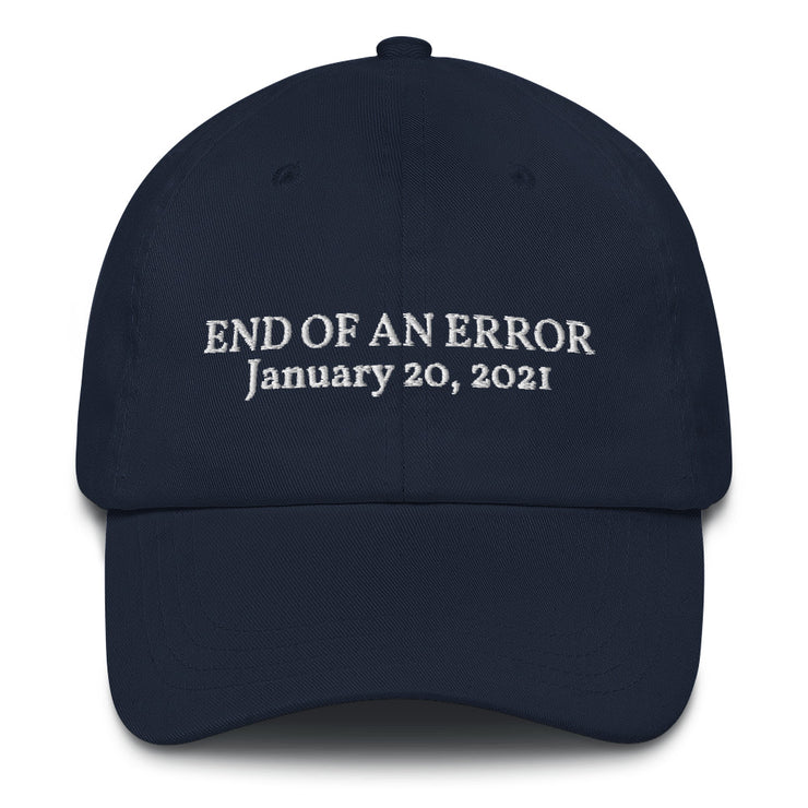 End of An Error Hat