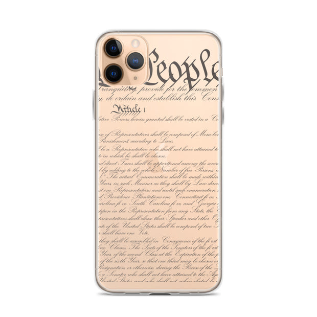 Constitution iPhone Case - The National Memo