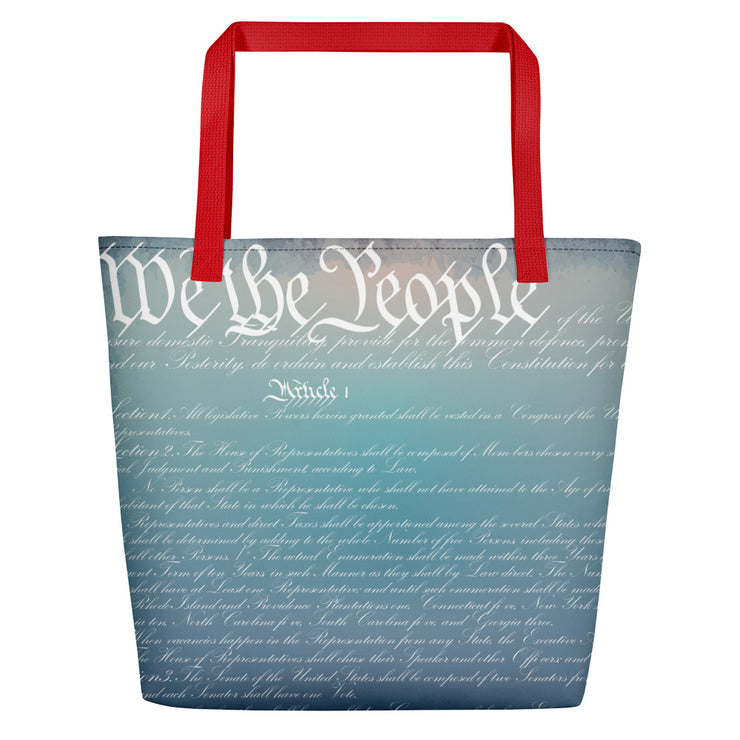 Constitution Beach Bag - The National Memo
