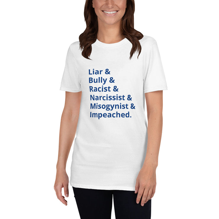 Liar & Bully Unisex T-shirt - The National Memo
