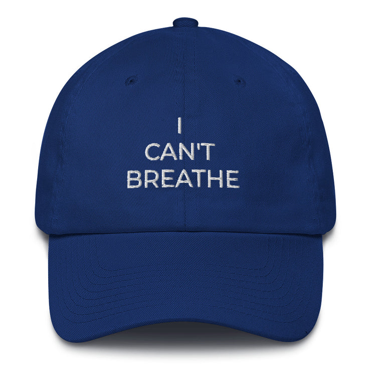 I Can't Breathe Cotton Cap - The National Memo