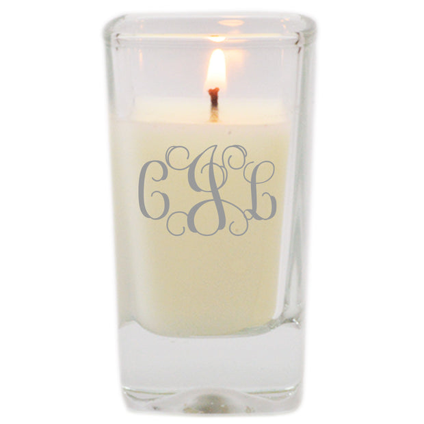 Personalized Glass Votive Candle - The National Memo