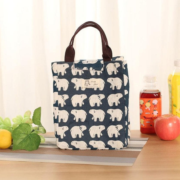 Insulated Canvas Lunch Tote - The National Memo