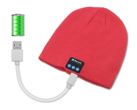 Wireless Bluetooth Hat with Speaker & Mic