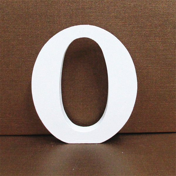 White Wooden Free Standing Letters - The National Memo