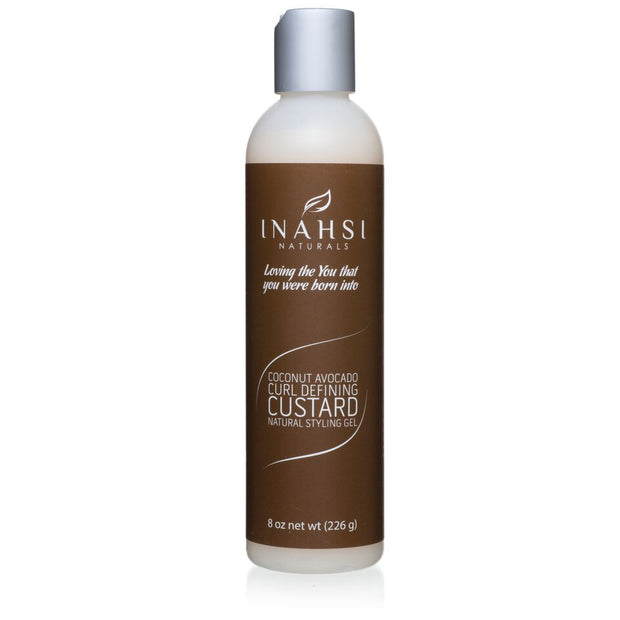Inahsi Naturals Coconut Avocado Curl Defining Custard