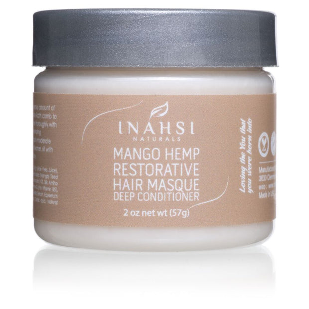 Inahsi Naturals Mango Hemp Restorative Hair Masque