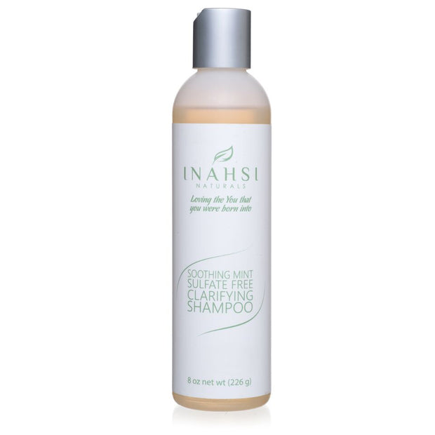 Inahsi Naturals Soothing Mint Sulfate Free Carifying Shampoo