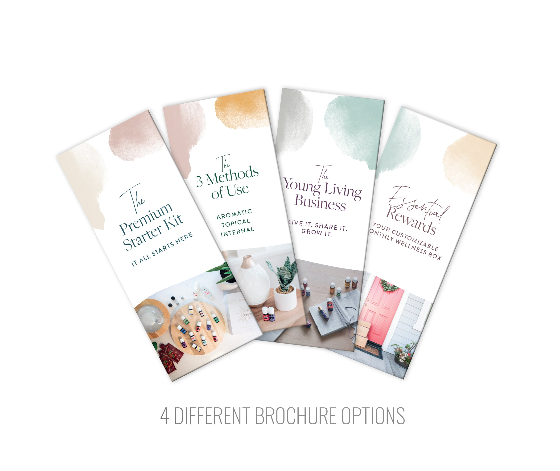 Brochure - 3 Methods of Use: Pack of 25