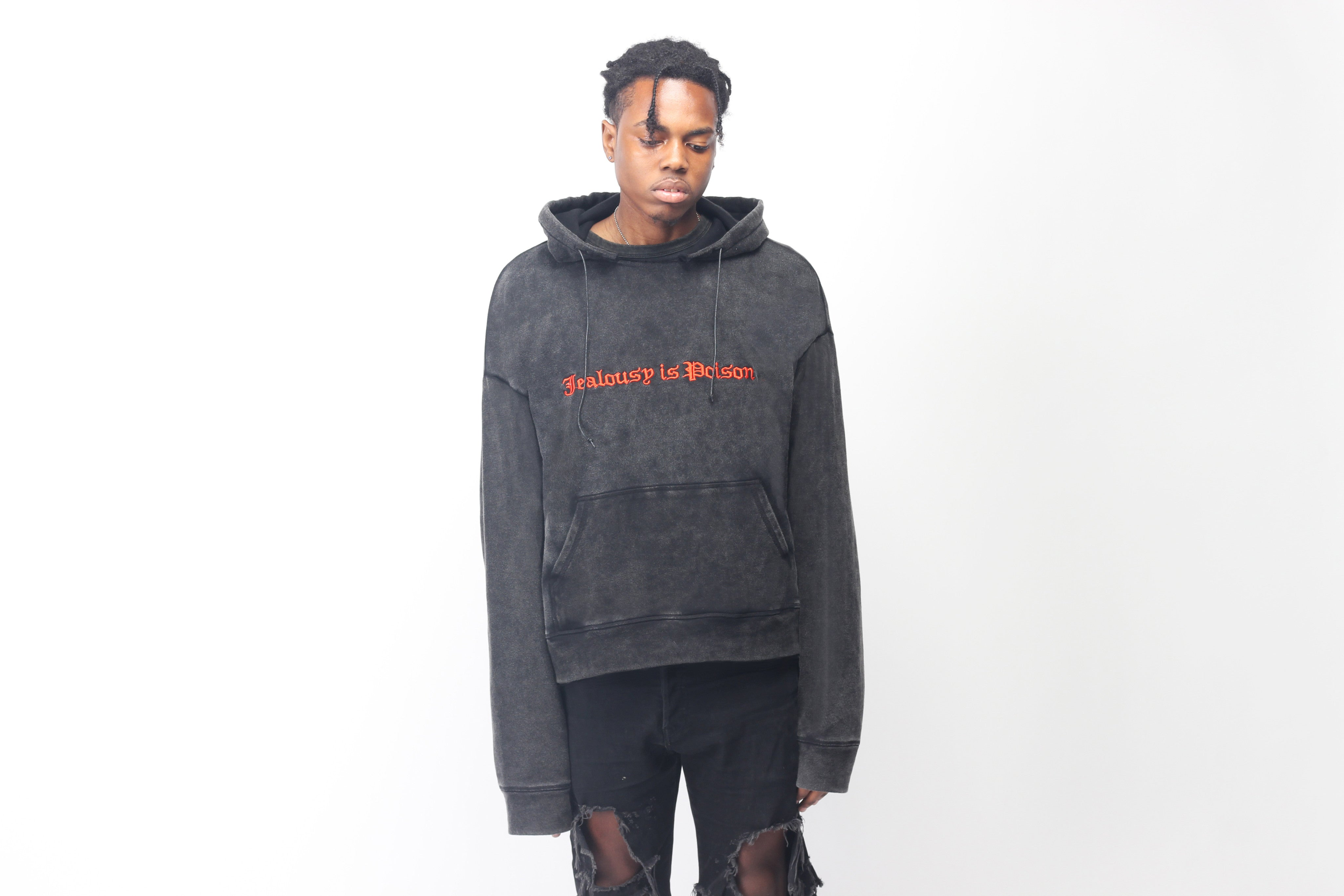 Image of WASHED PULLOVER