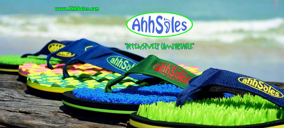 "Christmas is Coming....Buy 2 Pairs of Our Flops and Get a ""Free AhhSoles T Shirt"""