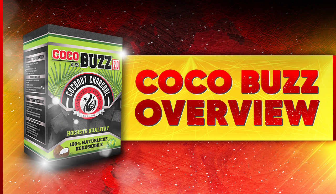 CocoBuzz 2.0 Coconut Charcoals: It's Bigger and Better