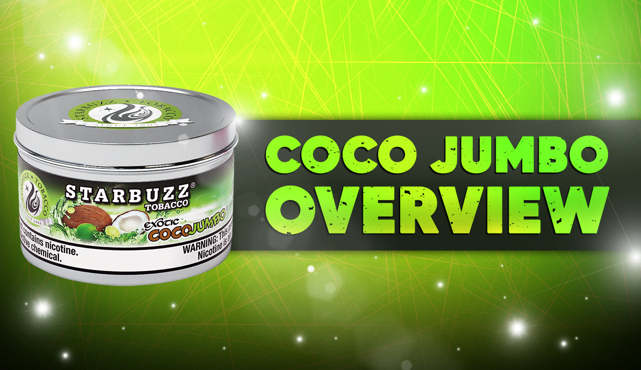 Starbuzz Exotic Coco Jumbo: It's Creamy Lime!