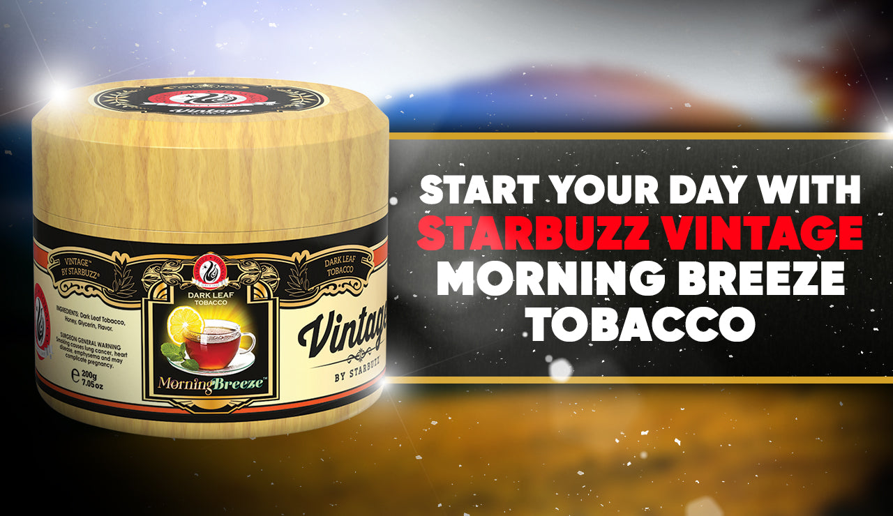 Start Your Day with Starbuzz Vintage Morning Breeze Tobacco
