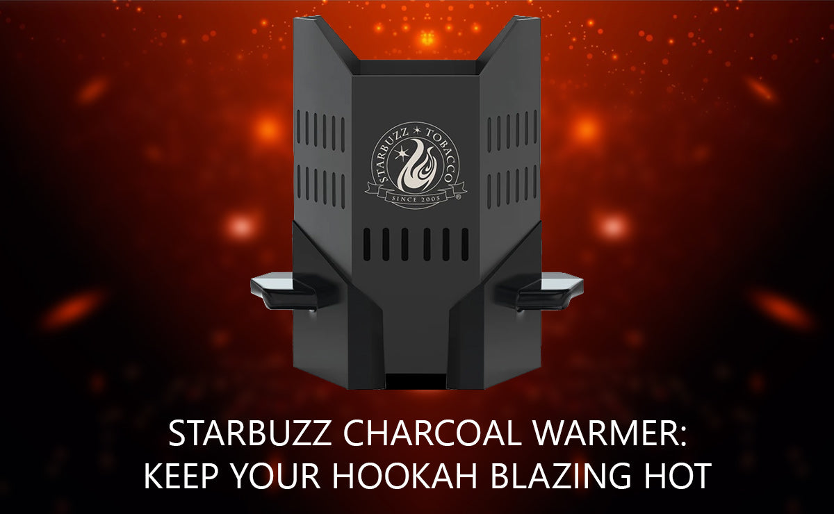 Starbuzz Charcoal Warmer: Keep Your Hookah Blazing Hot